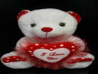 Soft Toy �I Love You� Bear 32cm #1154-1 (sold out)