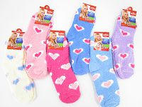 Lady Microfiber Socks(All Hearts) #15 (39-42)