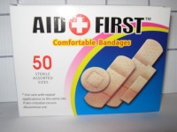 First Aid Bandages 50 pcs #HY0515