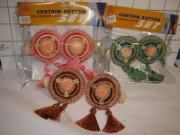 Curtain Button Decoration 2pcs