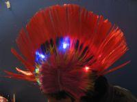 Wig with light #ZX-02