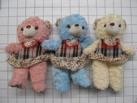 Soft Toy Teddy Bear with clothing 12 inch #1620-15