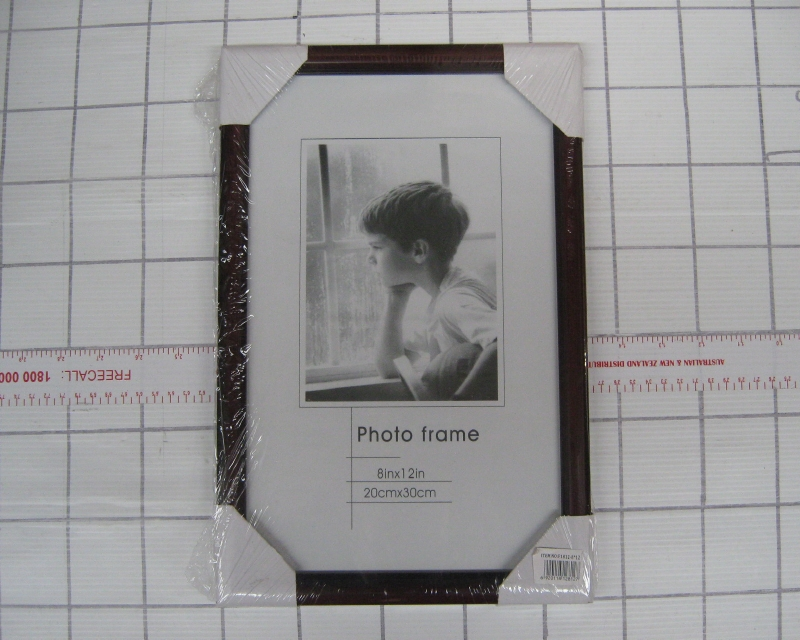 Plastic Photo Frame #F1812-12 x 16 inch