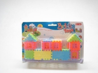 Plastic Toy Bricks House #8168-2 23x10 cm