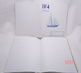 Stationery Book 1F4 – Excise Book 18 x 22cm