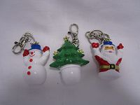 Christmas Key Ring 6cm