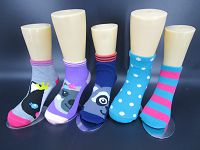 Kid Animal Ankle Sock (80% Cotton, 18%Polyester, 2%Spanoex)