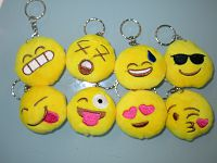 Soft Toy Emoji Key Ring