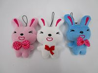 4in Key ring Rabbit (Ribbon)