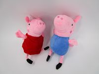6in Pig Soft Toy (sewing eyes)