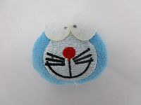 2in Blue Robot Cat Soft Toy