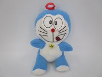 7in Blue Robot Cat