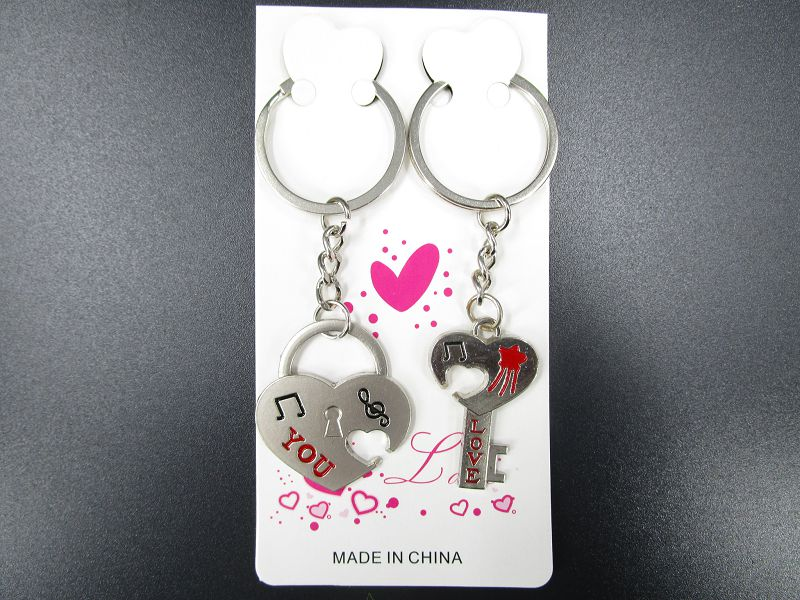 Metal Key Ring-Heart (Heart 3.5cm)